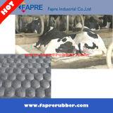 Natte agricole d'écurie de vache/cheval à cannelure de marteau