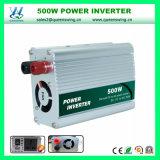 outre de l'inverseur à haute fréquence de pouvoir de véhicule du réseau 500W (QW-500MUSB)