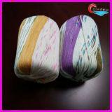 Filo di cotone di bambù di lavoro a maglia del filato fantasia
