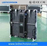 Afficheur LED extérieur de location d'étape de panneau-réclame de l'émission en direct P4.8mm