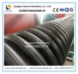 Leitet hoch entwickelte innere Rippen verstärktes Strukturieren-Wand Spirale HDPE Zeile mit beständiger Ring-Steifheit PLC-Extruder-Herstellungs-Maschine