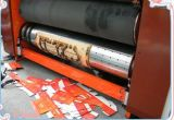 Impressão de tinta Flexographic que entalha a máquina cortando