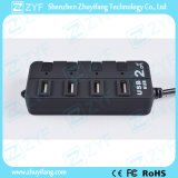 4 Switches 4 Port USB Hub 2.0 (ZYF4214)