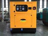 산업 & 가정 사용을%s 17.5kVA Quanchai 방음 디젤 엔진 발전기