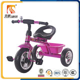 China scherzt 3 Rad-Dreiradpedal-Auto mit Korb