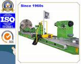 Tour horizontal professionnel de commande numérique par ordinateur de la Chine pour usiner les roues ferroviaires (CG61200)