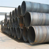 Pipe soudée par spirale d'acier du carbone
