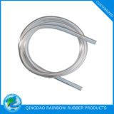 Kundenspezifische Semi-Transparent Silikon-Gummi-Rohrleitung