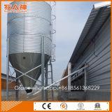 Équipement d'élevage automatique de volaille Silo d'alimentation par acier galvanisé