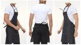 Zwei Farben-Denim-Arbeits-Schutzblech mit Taschen