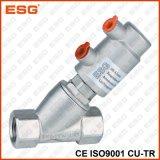Válvula de enchimento pneumática ativa do dobro de Esg
