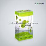 Caixa transparente personalizada do empacotamento plástico de PVC/Pet com suspensão para o varejo