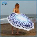 100% tovagliolo di spiaggia stampato cotone del tovagliolo di bagno del velluto