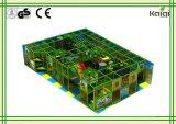 販売のためのKaiqiの森林屋内運動場か幼稚園のためのショッピングモール及びスーパーマーケットの/Kidsののための緑の森林屋内運動場屋内運動場