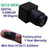 90 degrés ! 520tvl caméra de sécurité du plus petit HD et de la vision nocturne mini, caméra couleur, 0.008lux