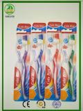 Languette-Nettoyeur chaud de ventes avec la brosse à dents adulte en caoutchouc de massage