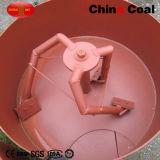 Tipo máquina concreta portátil horizontal elétrica da bandeja do misturador de cimento