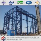 Промышленное тяжелое изготовление здания стальной структуры
