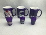 15ozネオンカラーマグ、紫色カラー陶磁器のマグ