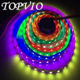 5050 programmierbare LED Weihnachtslichter des Digital-flexiblen Streifen-