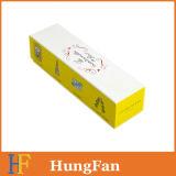 Rectángulo de regalo de papel de empaquetado colorido del estilo de la historieta para el chocolate