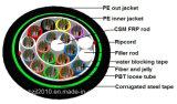 Diriger le câble optique enterré de fibre