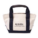 卸売の安くリサイクルされたカスタム昇進の標準サイズの黒の100%年の綿のショッピング戦闘状況表示板の綿袋