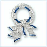 De nieuwe Broche van de Juwelen van de Manier van het Ontwerp Bowknot Gevormde