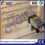 Логос печатание принтера Inkjet Cycjet Alt382 промышленный Handeld на древесине