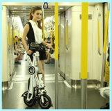 電気バイクを折るEcoriderのE自転車ブラシレス250W 36V