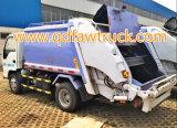 特別なトラック、圧縮されたごみ収集車、FAWトラック8-10トンの屑の