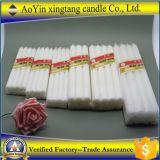 80g 2.5*20cm純粋で白い蝋燭または石蝋の蝋燭の/Cheapの白の蝋燭
