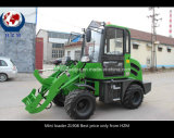 유럽에 있는 Machine Mini Wheel Loader Hot Sale 경작