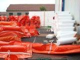 Asta veloce di contenimento dell'olio di Airfilled di risposta, boom del petrolio gonfiabile del PVC
