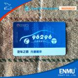 Cartão de memória plástico UV transparente do PVC
