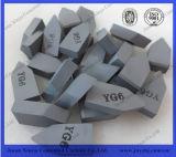 Yg6 Yt15 цементировало вставку резца лезвия карбида вольфрама