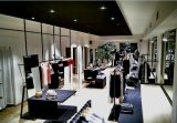 Roupa Shop Lighting com diodo emissor de luz Ceiling Light de Black