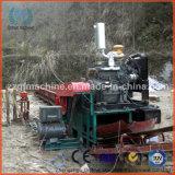 Madeira que lasca o equipamento para o registro de madeira