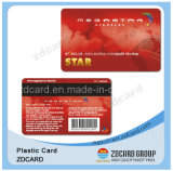 Cartão do VIP do código de barras da impressão de Offest/tira magnética/metal