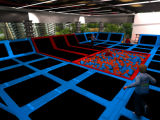 CER Approved Liben Popular Kids Indoor Trampoline Park mit Foam Pit