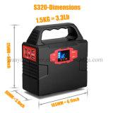 40800mAh dirigem a fonte de alimentação solar da fonte de energia do gerador com iluminação do diodo emissor de luz