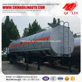Acid Liquid Tanker Semi-remorque à 12 roues