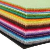Il tessuto Assorted del feltro di colore riveste la rappezzatura che cuce il mestiere 20*30cm di DIY