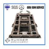 Pièces de usinage de soudure de commande numérique par ordinateur de fabrication en métal structural d'ODM d'OEM