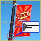 Уличный свет Поляк металла, рекламируя оборудование знамени (BS-HS-001)