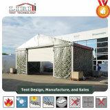 Barraca quente do hangar da venda usada para o estacionamento dos aviões