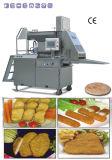 Empanada de la carne que forma la máquina
