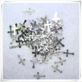 Fashional kleines Kreuz-Metallkatholische Jesus-Kruzifix-Anhänger (IO-ap182)