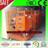 Máquina da filtragem do petróleo do transformador do vácuo da eficiência elevada, máquina da purificação de petróleo