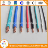 Alambre flexible del cable con los estándares Thhn de la UL